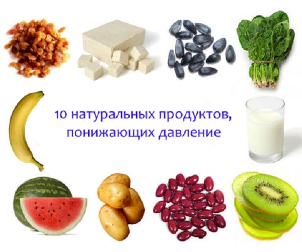 Что понижает давление в домашних условиях продукты