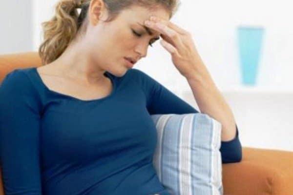 Головная боль и слабость я беременна