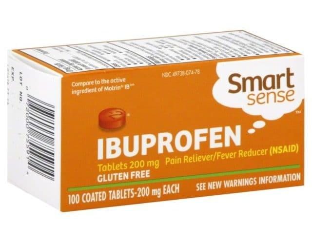 Эффективность Ибупрофена длится до восьми часов после однократного приема