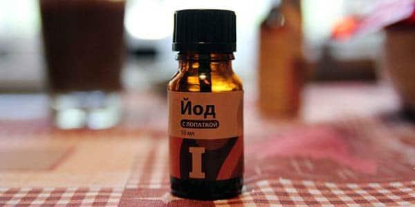 Лечение йодом рекомендуется проводить каждый год