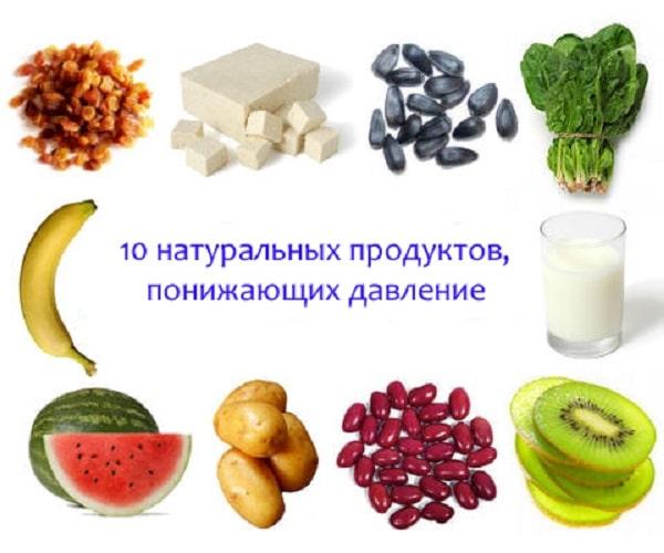 В продуктах должны обязательно содержаться витамины Е, С