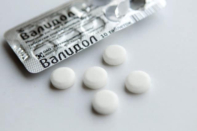 Действие препарата обусловлено рефлекторными реакциями, вызванными раздражением нервных окончаний