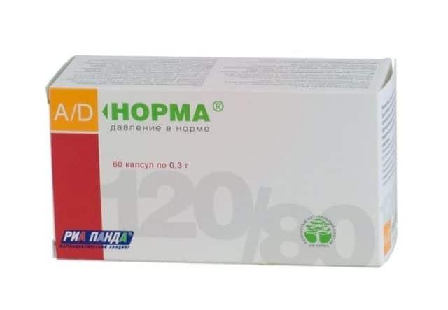 Согласно инструкции А.Д. Норма способствует понижению артериального давления, нормализует уровень холестерина в крови