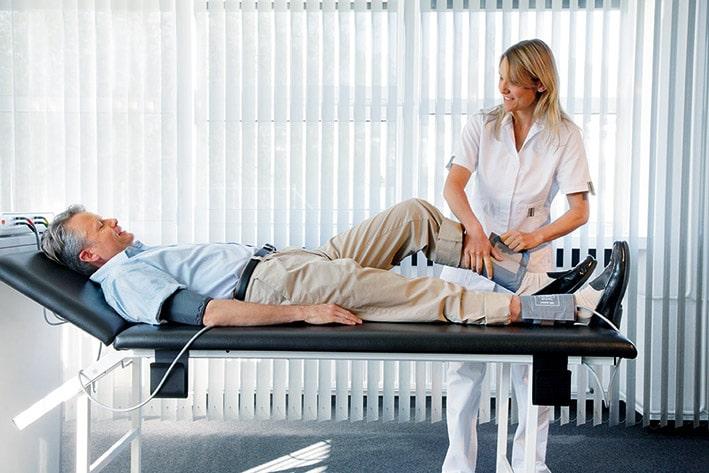 Как измерить артериальное давление на ногах?