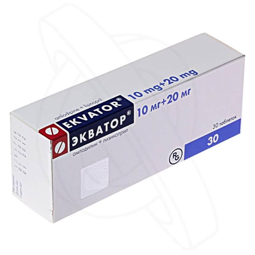 экватор таблетки от давления инструкция по применению