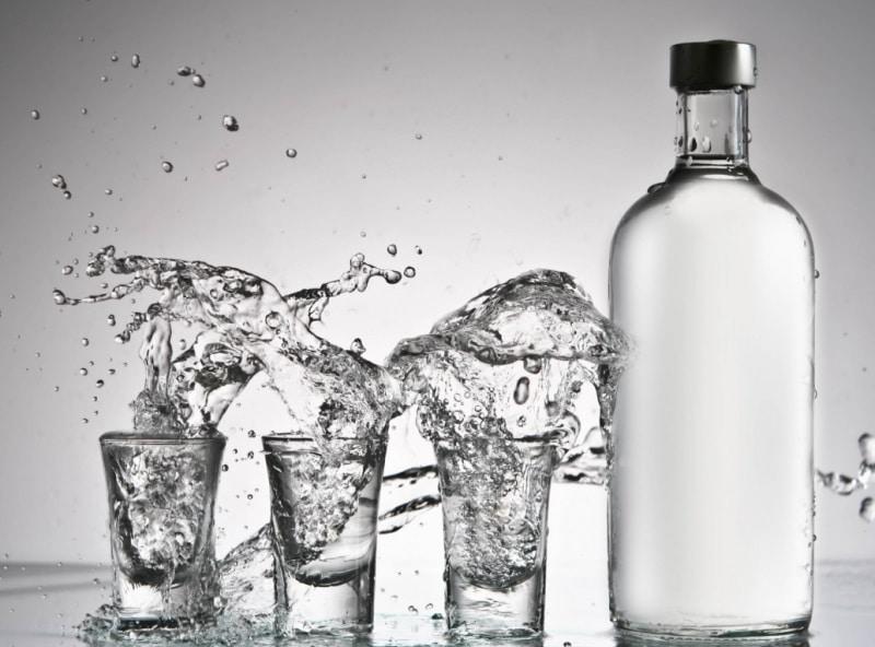 Водка при давлении