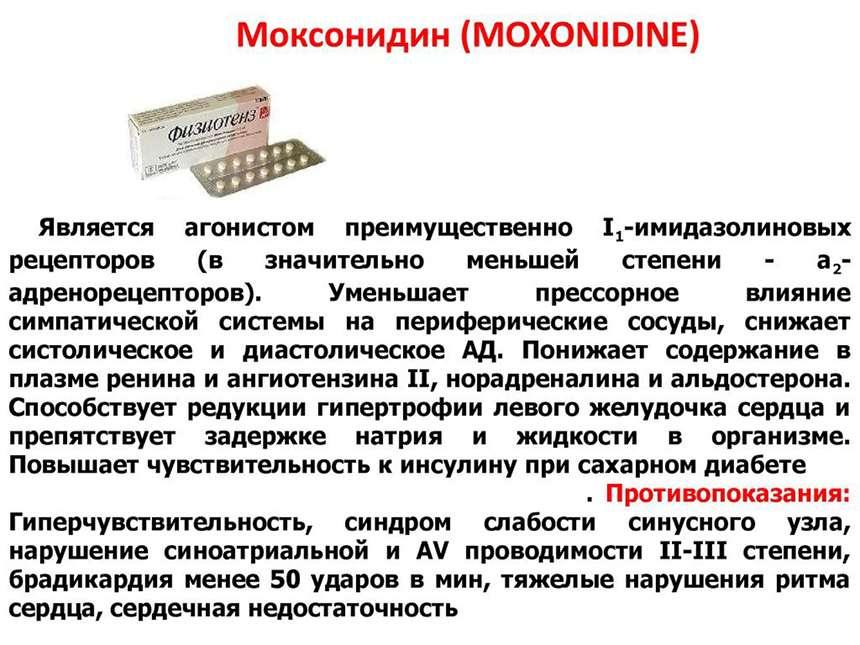 Физиотенз (Моксонидин)