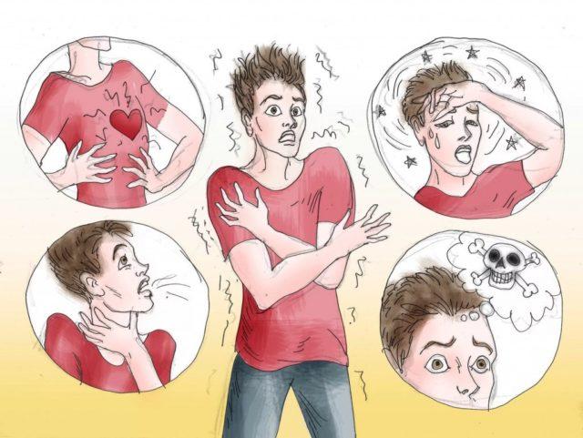 Страх и паника могут развиваться при патологиях сердечно-сосудистой системы