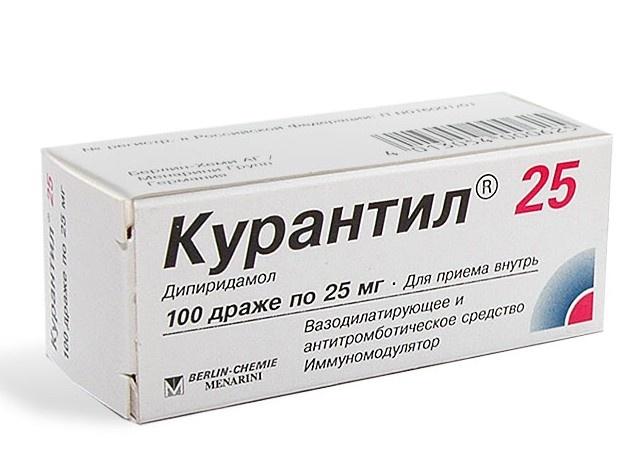 Но если принять это лекарство в больших дозах, то он повлияет и на крупные артерии — в этом случае Курантил понижает давление