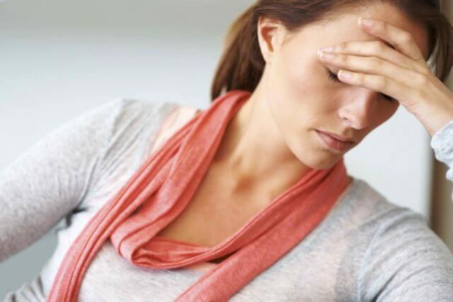 Болезненные ощущения в области затылка и висков
