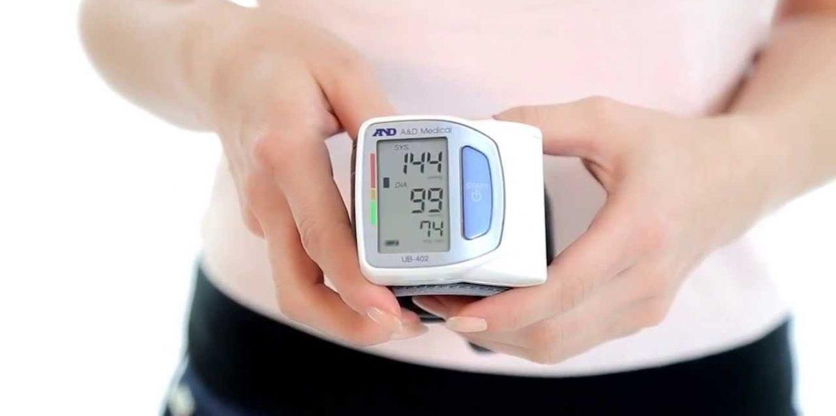 Прибор для измерения давления на запястье