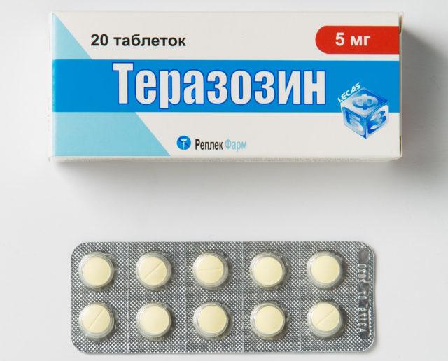 Препарат «Теразозин»